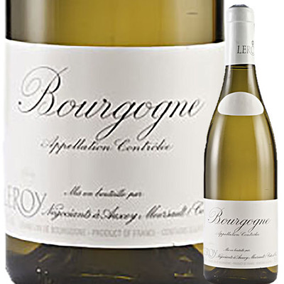 ブルゴーニュ・ブラン メゾン・ルロワ 2015年 フランス ブルゴーニュ  白ワイン  750ml