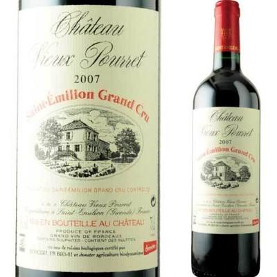 シャトー・ヴュー・プレ 2007年 フランス ボルドー 赤ワイン フルボディ 750ml