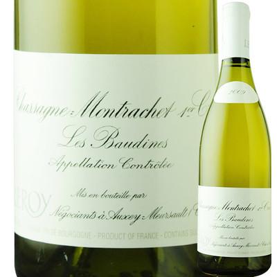 シャサーニュ・モンラッシェ・プルミエ・クリュ・レ・ボーディーヌ メゾン・ルロワ 2009年 フランス ブルゴーニュ 白ワイン 辛口 750ml