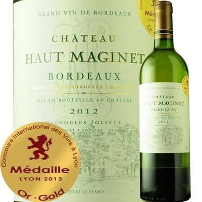 シャトー・オー・マジネ・ブラン 2012年 フランス ボルドー 白ワイン 辛口 750ml