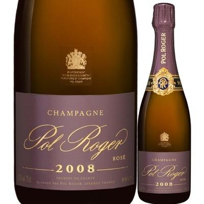 ブリュット・ロゼ 辛口・ ミレジメ ポル・ロジェ 2008年 フランス シャンパーニュ シャンパン・ロゼ 辛口 750ml