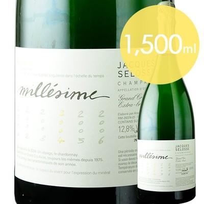 ミレジム マグナム ジャック・セロス 2004年 フランス シャンパーニュ シャンパン・白 辛口 1500ml