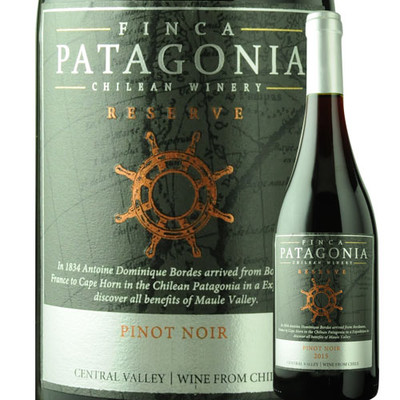 ピノ・ノワール・レゼルヴ フィンカ・パタゴニア 2016年 チリ マウレヴァレー 赤ワイン ミディアム 750ml
