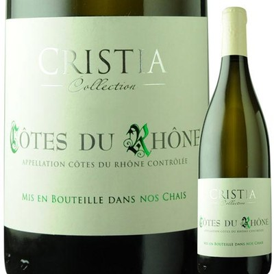 コート・デュ・ローヌ・ブラン ドメーヌ・ド・クリスティア 2017年 フランス ローヌ 白ワイン 辛口 750ml