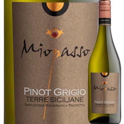 ミオパッソ・ピノ・グリージョ ワイン・ピープル 2017年 イタリア シチリア 白ワイン 辛口 750ml