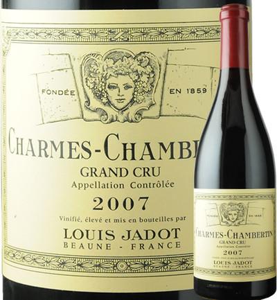 シャルム・シャンベルタン ルイ・ジャド 2007年 フランス ブルゴーニュ 赤ワイン フルボディ 750ml