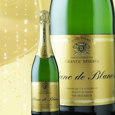 シャルル・ぺルティエ ブラン・ド・ブラン ヴーヴ・アンバル NV フランス ブルゴーニュ スパークリングワイン・白 辛口 750ml