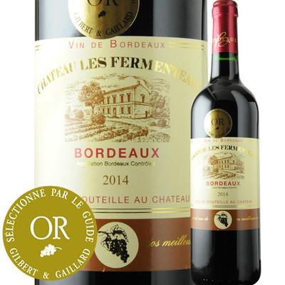 シャトー・レ・フェルメント 2014年 フランス ボルドー 赤ワイン フルボディ 750ml