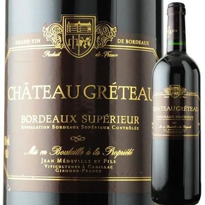 シャトー・グレトー・ルージュ 2015年 フランス ボルドー 赤ワイン フルボディ 750ml