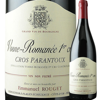 ヴォーヌ・ロマネ プルミエ・クリュ クロ・パラントゥー エマニュエル・ルジェ 2012年 フランス ブルゴーニュ ヴォーヌ・ロマネ 赤ワイン  750ml