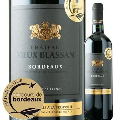 シャトー・ヴュー・ブラサン 2015年 フランス ボルドー 赤ワイン 750ml