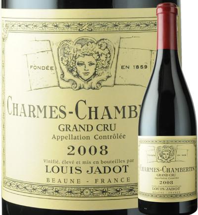 シャルム・シャンベルタン ルイ・ジャド 2008年 フランス ブルゴーニュ 赤ワイン フルボディ 750ml